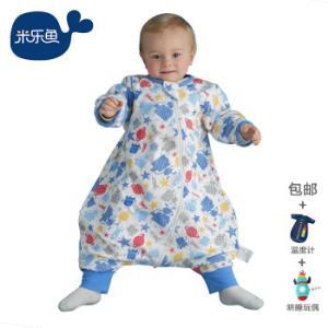 米乐鱼 婴儿睡袋抱被新生儿童宝宝秋冬防踢被3段历险太空90*56cm *2件264.9元(合132.45元/件)