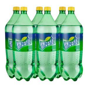 雪碧 Sprite 柠檬味 汽水 碳酸饮料 2L*6瓶 可口可乐公司出品33元