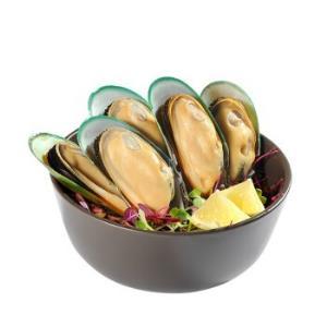 京东海外直采 新西兰青口贝(半壳熟冻)1kg 30-44只/盒 原装进口49.9元