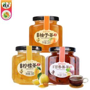 蜂蜜柚子柠檬百香果蜜茶238g*3瓶 券后¥24.9