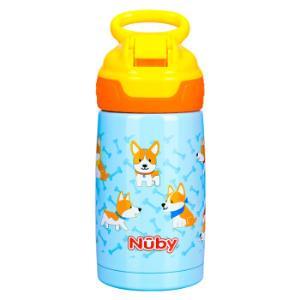 Nuby 努比 儿童吸管杯 宝宝运动水杯 300ml *2件138元(合69元/件)
