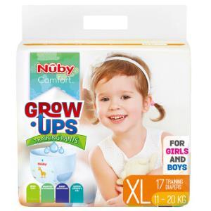 Nuby 努比 婴儿学步裤 纤薄干爽 XL码17片 *3件107元(合35.67元/件)