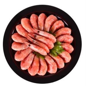 Sirena 原装进口熟冻加拿大北极虾 腹籽率75%-80% 1kg79元