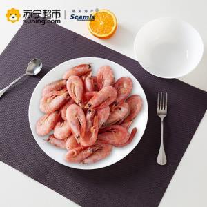 Sirena 熟冻加拿大北极虾 腹籽虾 1kg 90-120只 *2件112元(合56元/件)