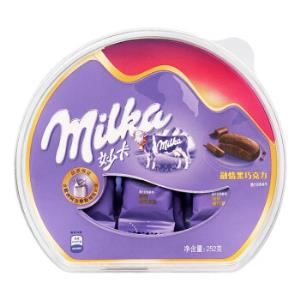 妙卡 MILKA年货送礼 融情黑巧克力252g *2件39.9元(合19.95元/件)