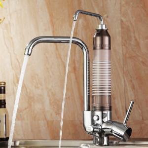 阿玛蒂 净水器 厨房直饮水净水龙头自来水过滤器 净水厨房龙头DF7083C 红色1380元