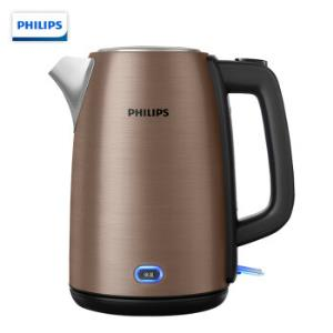 PHILIPS 飞利浦 HD9355 电水壶 1.7L 198元