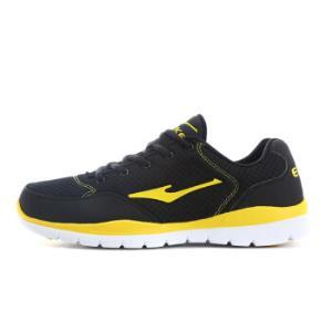鸿星尔克erke男鞋 跑步鞋潮流时尚旅游鞋复古慢跑鞋网面款11113303387正黑41码79元