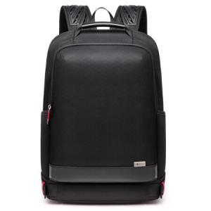 匠驰鼓风散热双肩包男士背包商务电脑包大中学生书包SC81707黑色158元