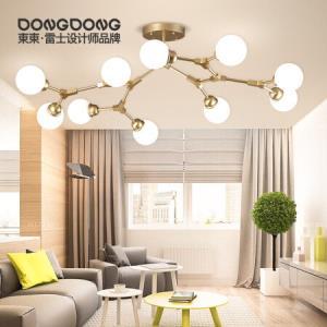 DongDong LED吸顶灯分子灯星梦吊灯现代简约客厅卧室餐厅灯欧式魔豆灯具灯饰 50W 4500K 雷士照明设计师品牌799元