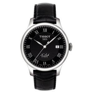 TISSOT 天梭 经典系列 T41.1.423.53 男士时装自动机械手表 皮带黑盘2649元