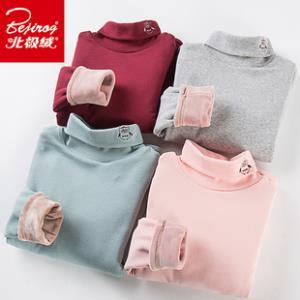北极绒 女童冬季加绒加厚纯棉打底衫 券后¥29.5
