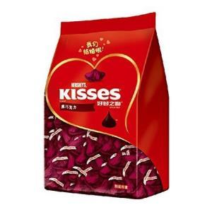 HERSHEY'S 好时之吻 黑巧克力 500g *2件 66元(合33元/件)