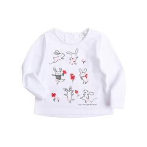 Ponie Conie 0-8岁 女童打底衫宝宝长袖T恤秋冬装上衣T恤婴儿衣服秋冬童装女宝宝衣服38元包邮