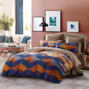 SAINTMARC罗莱出品 198纱支纯棉四件套 全棉床上用品床品套件床单被罩 科洛情怀 200*230269.5元
