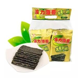波力海苔 荞麦夹心脆 120g *2件39.9元(合19.95元/件)