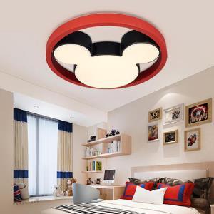 雷士照明 LED多彩米奇合作款儿童卧室灯创意灯饰卡通459元包邮