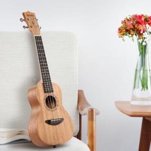 美德威23寸尤克里里UKULELE 桃花芯乌克丽丽 初学入门小吉他238元