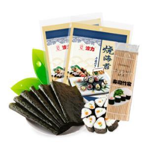波力 烧海苔 寿司海苔 54克 *7件235元(合33.57元/件)