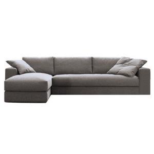 紫茉莉 北欧宜家布艺沙发 单人位+双人位+贵妃位 3.2m 1999元