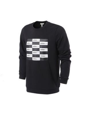 adidas阿迪达斯NEO男子卫衣套头休闲运动服CD2339 L 黑色119元