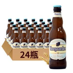Hoegaarden 福佳 白啤酒 330mL*24瓶108元,可199-60