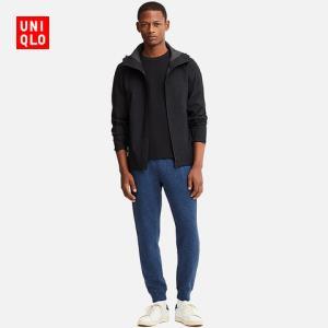 12日0点:UNIQLO 优衣库 408987 男士运动长裤 黑色 M109元