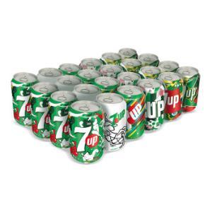 7喜 七喜 7up 柠檬味 碳酸饮料 330ml*24听  百事可乐出品 (新老包装随机发货) *2件+凑单品39.9元(合19.95元/件)