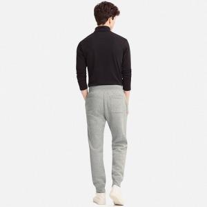 优衣库 UNIQLO 409050 男装 仿羊羔绒运动长裤129元