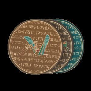 大英博物馆 埃及系列 皮质杯垫15元