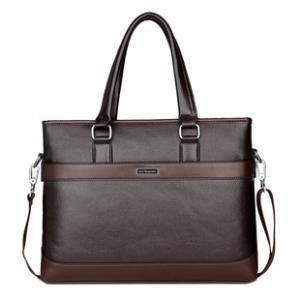 男士手提包商务公文包横款男包单肩斜挎背包  券后68元