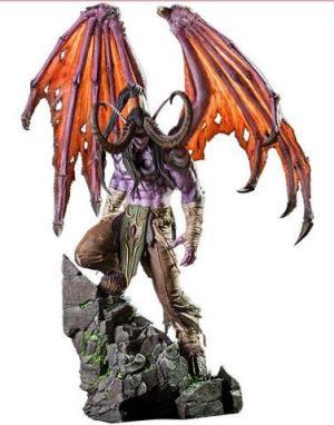 预购 暴雪Blizzard 魔兽世界 伊利丹・怒风雕像手办魔兽官方正版 赠品官方OW背包2989元