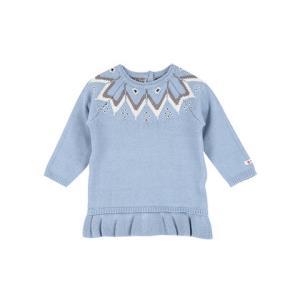 puujpuu 儿童棉花糖蓝色毛衣 90-120厘米 *5件 99元(合19.8元/件)