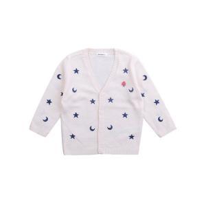 puujapuu 韩国进口 星星图案开衫 0-4岁 *5件 99元(合19.8元/件)