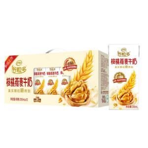 伊利谷粒多核桃燕麦牛奶200ml*12盒/礼盒装 37.9元
