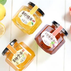 蜂蜜柚子柠檬百香果蜜茶238g*3瓶 券后24.9元