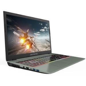 Shinelon 炫龙 毁灭者DD2金属狂潮 15.6英寸游戏笔记本电脑(i5-8400、 8GB、 128GB+1TB、GTX1050ti 4G)    5779元