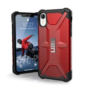 UAG 钻石系列 苹果 iPhone XR 手机保护壳 透明红色 *2件296.8元包邮(合148.4元/件)