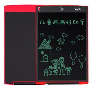 凯伦猫(KALRENCAT) H12 12英寸 儿童涂鸦绘画写字板 液晶电子手写板 家庭留言备忘 办公笔记 画板 红色79元