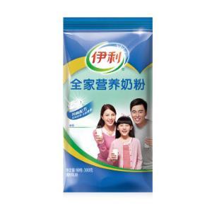 伊利 全家营养 全脂甜奶粉 300g *9件136元(合15.11元/件)