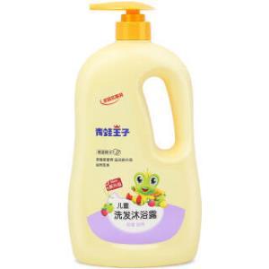 FROGPRINCE 青蛙王子 儿童洗发沐浴二合一 1.1L 椰油精华 *6件 113.4元(合18.9元/件)