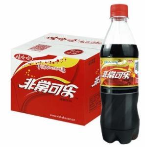 WAHAHA 娃哈哈 非常可乐 碳酸饮料 500ml*12瓶 28元包邮
