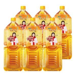 康师傅 茉莉蜜茶 2L*6瓶 *2件61.8元(合30.9元/件)