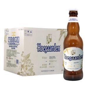 Hoegaarden 福佳 比利时风味 精酿小麦白啤酒 330ML*24 整箱装149元