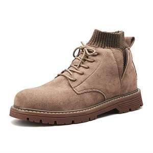 FOLOMI 跨境专供 加绒防滑马丁靴 英伦马丁鞋 高帮鞋 大头鞋休闲鞋168元