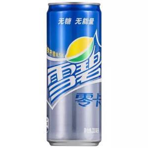 雪碧 Sprite 零卡 无糖零卡 汽水 碳酸饮料 330ml*24罐 整箱装 可口可乐公司出品 新老包装随机发货31元