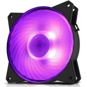 COOLERMASTER 酷冷至尊 MasterFan MF120R RGB机箱风扇(兼容4厂主板RGB灯效) *3件97元(合32.33元/件)