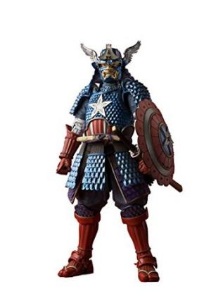 BANDAI 万代 Marvel Samurai 美国队长 589.73元