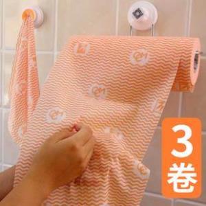 咔咔玛不沾油懒人抹布厨房无纺布干湿两用家务清洁巾一次性洗碗布  券后21.8元
