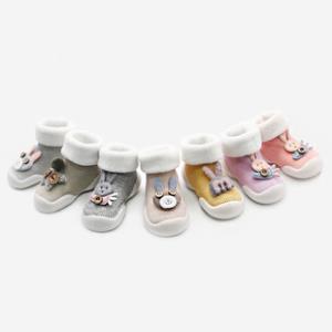 婴儿加厚保暖软底防滑学步鞋袜  券后23.9元